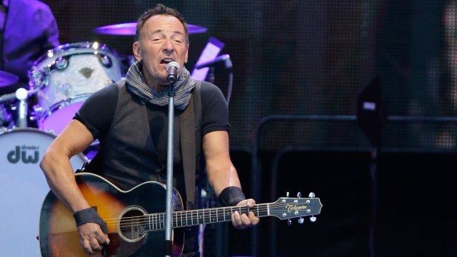 Springsteen Launches Book Tour in NJ, of Course
