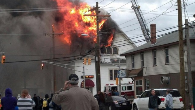 Photos: Millville Church Fire