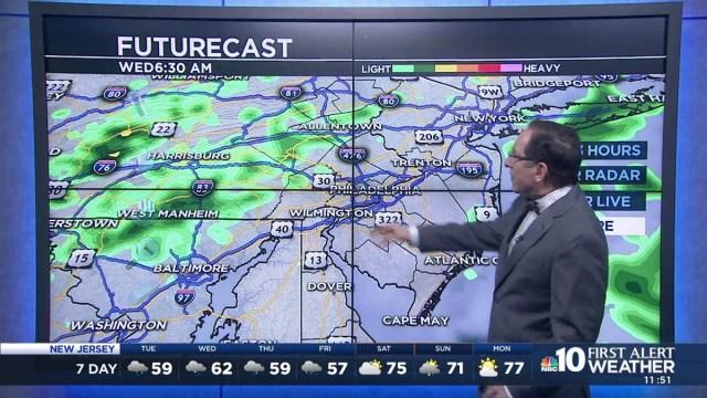 NBC10 First Alert Neighborhood Weather chief meteorologist Glenn