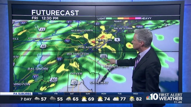 First Alert Neighborhood Weather meteorologist Bill Henley says nice weather is near but not before more rain.