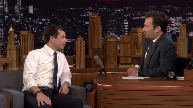 [NATL] 'Tonight': Mayor Pete Buttigieg Discusses His 2020 Campaign and 'Game of Thrones' Predictions