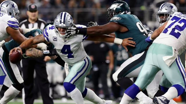 Why Eagles' Play in Trenches Is Behind 8-game Win Streak