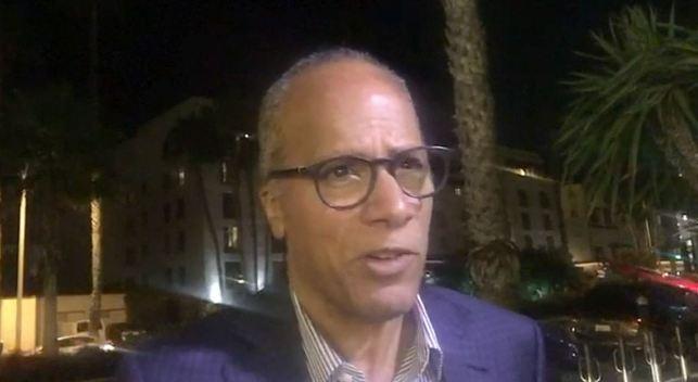 Lester Holt Describes Chaos at LA Airport