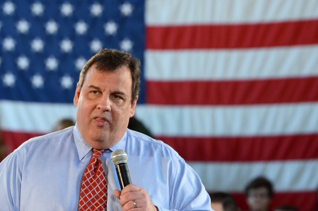 Christie Files Financial Disclosure Report