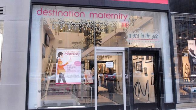 Destination Maternity Planning Bankruptcy Filing