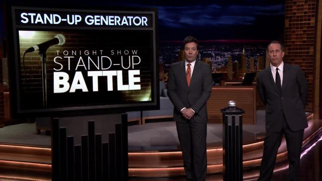 'Tonight': Stand-Up Battle with Jerry Seinfeld