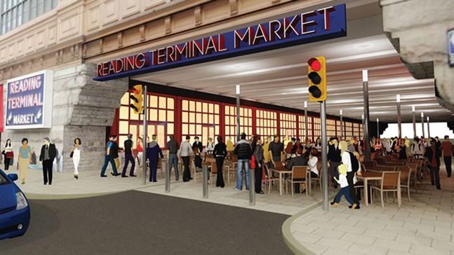 Reading Terminal's $1M Plan to Take Over Filbert Street