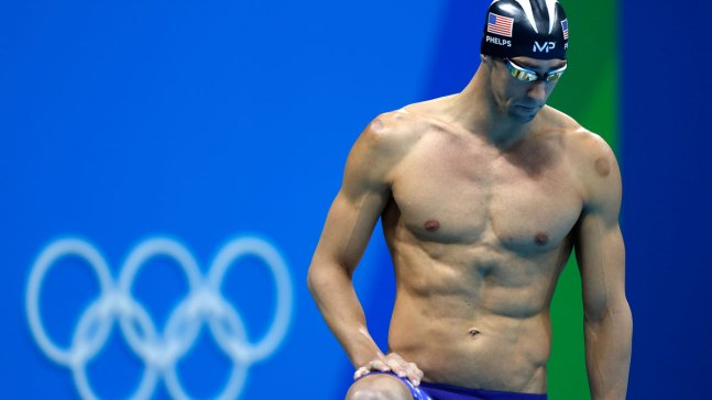 Animated Great White Takes Gold in Race Against Phelps