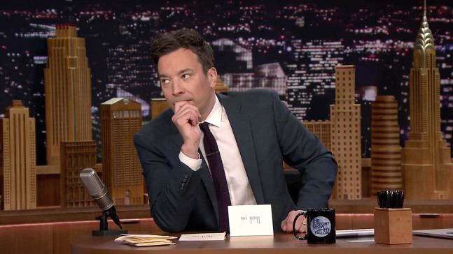 Jimmy Fallon Asks: What Color is #TheDress?