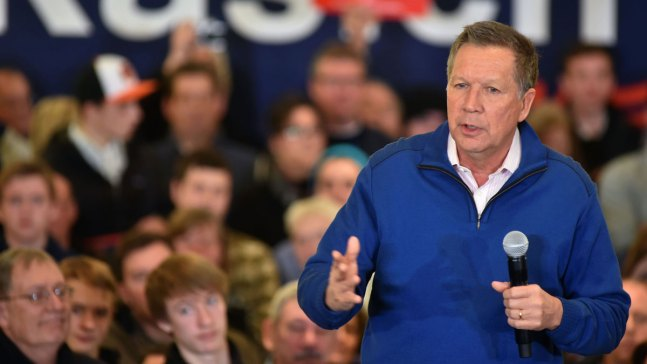 After Ohio Win, John Kasich Comes to Main Line
