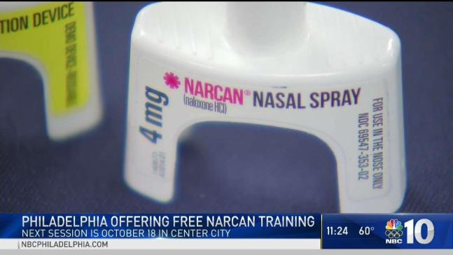 Learn to Save Lives With Free Narcan Training