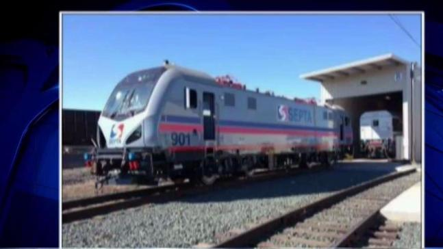 SEPTA Unveils New Electric Locomotives