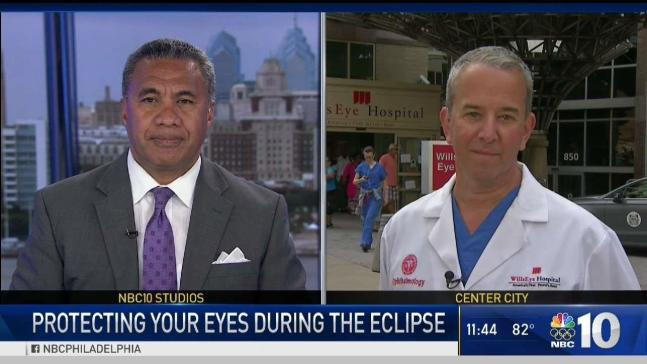 Protecting Your Eyes During the Solar Eclipse
