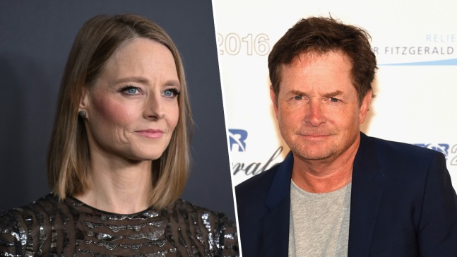 Jodie Foster, Michael J. Fox Call for Unity at UTA Rally