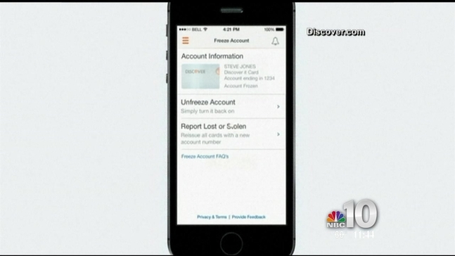 Discover App Allows You to Freeze Lost Credit Cards