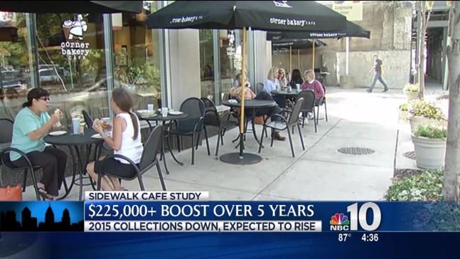 Sidewalk Cafes Bring in Big Bucks