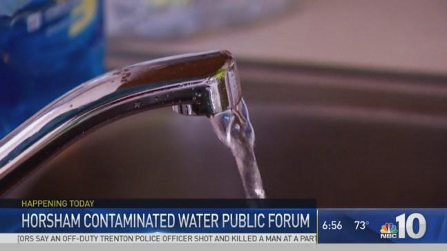 Public Forum Over Contaminated Water in Montco