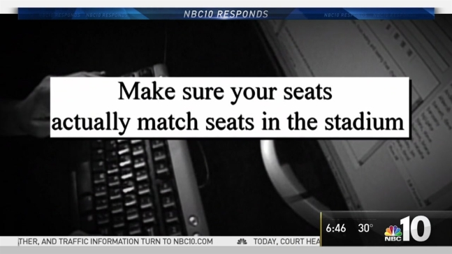 NBC10 Responds: Beware of Bowl Game Ticket Schemers