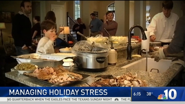 Experts Give Tips to Ease Holiday Stress