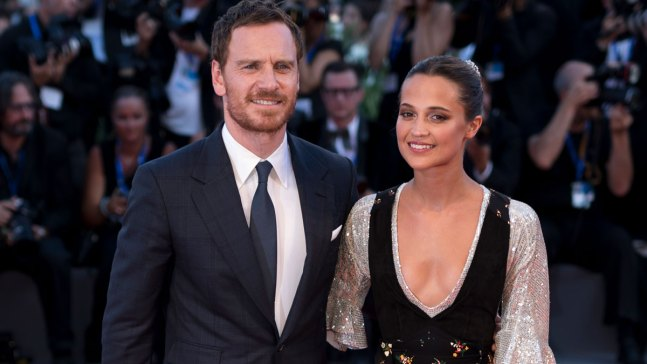 Michael Fassbender and Alicia Vikander Wed