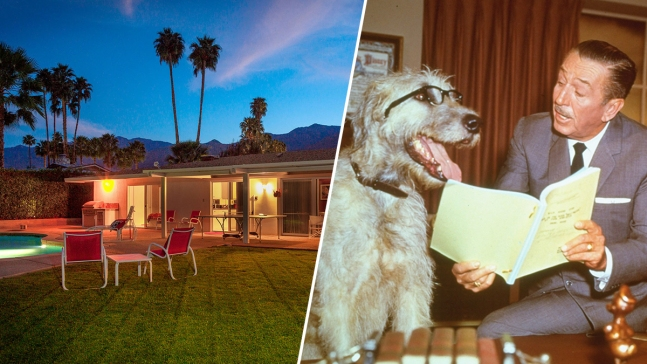 Sale Pending for Walt Disney's Technicolor Desert Retreat