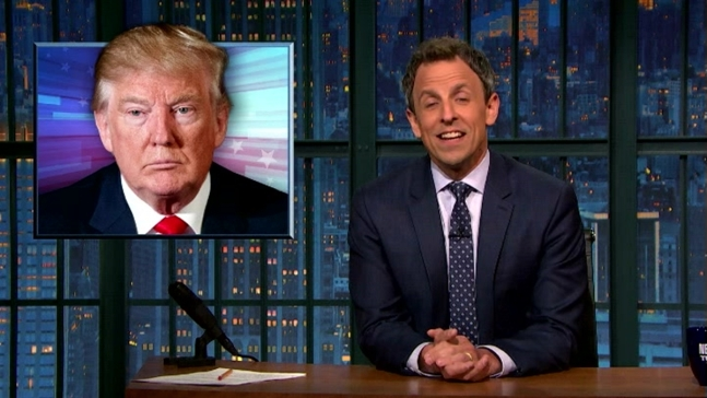 'Late Night': Trump's Closing Arguments