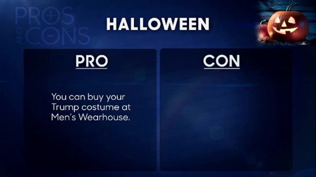 'Tonight Show': Pros and Cons of Halloween