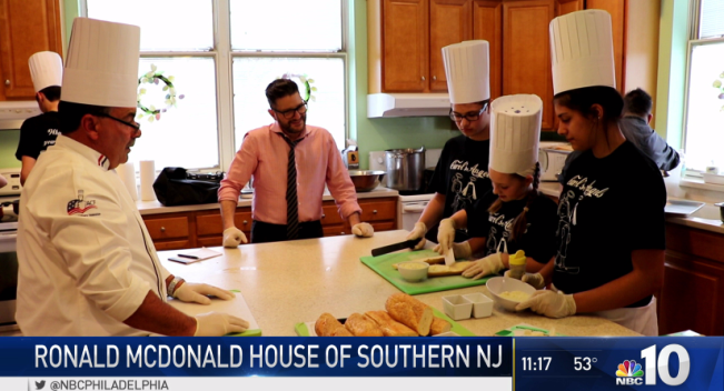 Ronald McDonald House of Southern NJ Hosts Family Dinner
