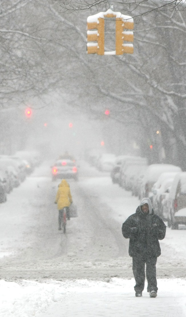 Brrrr! Frigid Winter in the Works