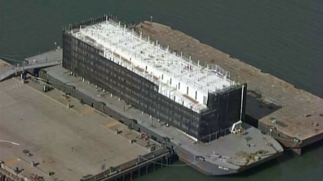 Google Must Move Mystery Barge in San Francisco Bay: Official