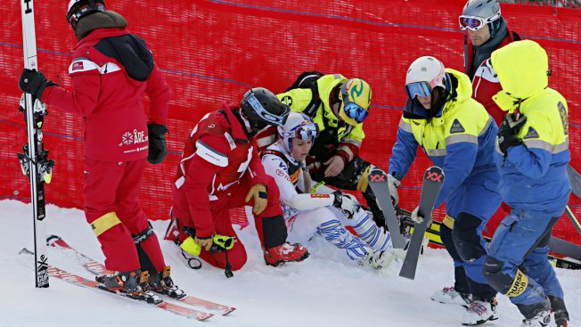 'I'm Too Old for This': Lindsey Vonn in Nasty Crash at Final Tournament of Career