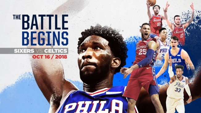 Sixers Tabbed for 4 National Television Games in NBA's Limited 2018-19 Schedule Release