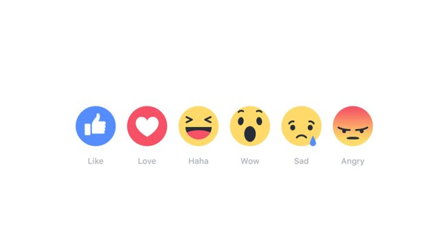 'Wow,' 'Haha': Facebook Rolls Out New 'Reactions' Buttons