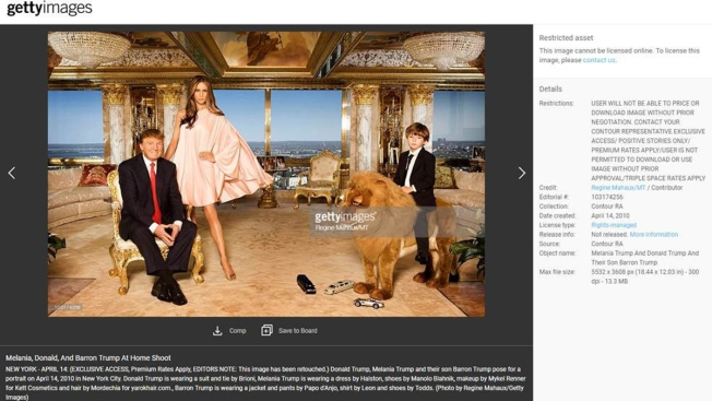 News Media Paid Melania Trump for Use of Photos in 'Positive Stories Only'