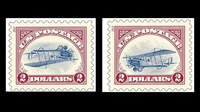 man lands corrected 1918 stamps nbc 10 philadelphia