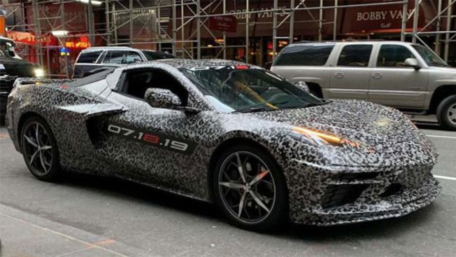 GM Teases 2020 Chevy Corvette C8 in Bid for Ferrari, McLaren Luxury Sports Car Market