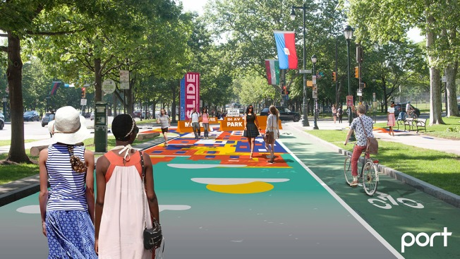 The Oval+ to Expand Park Space Into The Benjamin Franklin Parkway