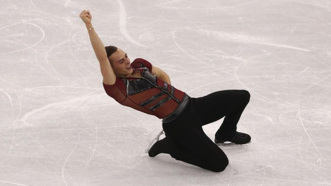Self-Proclaimed 'Icon' Adam Rippon Takes Final Olympic Skate
