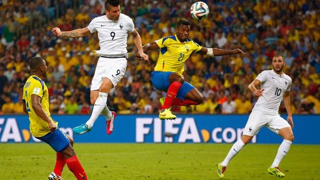 France Clinches Top Spot in Group E; Ecuador Out