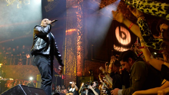 Eminem, Dr. Dre, Mase, Nas Perform at LA Show
