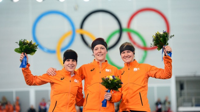 Jorien Ter Mors Wins 1,500m Speedskating in 3rd Dutch Sweep of Sochi Games