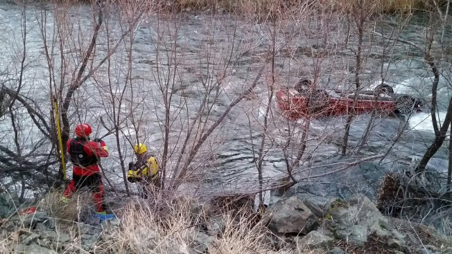 Driver Survives After Plunging Into Northern California River