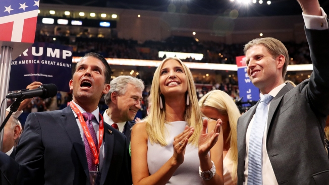 NYC Voters to Trump Kids: Don't Bother Running