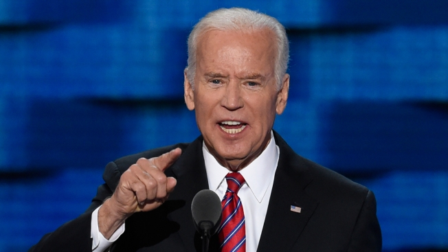 Vice President Biden: Trump Can't Be Trusted With Nuclear Launch Codes