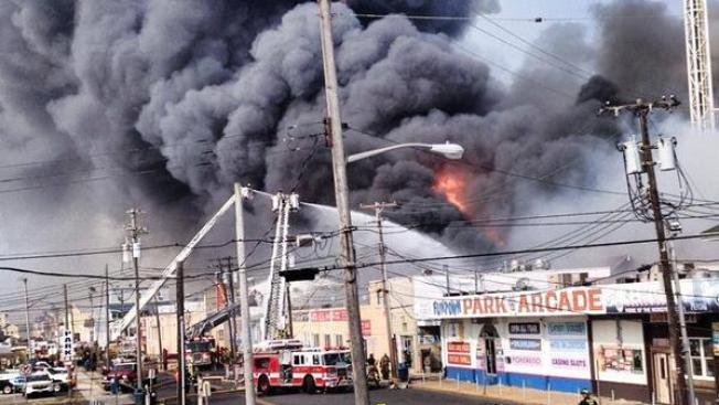 Christie Plans $15M in Aid After Boardwalk Fire