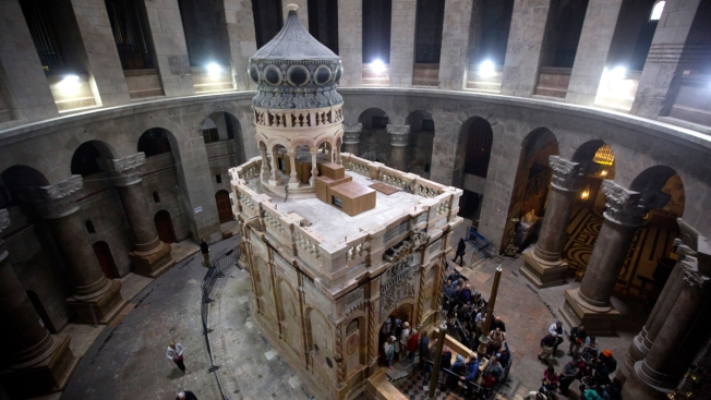 Ancient Glue Offers New Insight Into What May Be Jesus' Tomb