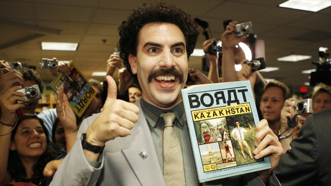 582613e3ee7bc Sacha Baron Cohen to Pay Fine Czechs Got Wearing Borat Mankini - NBC ...