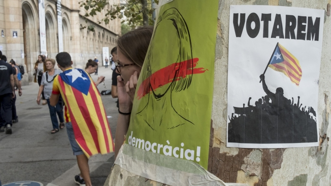 Catalonia urges EU intervention in independence vote dispute