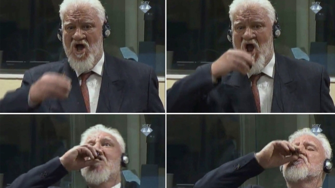 Slobodan Praljak Genocide >> I Am Not A War Criminal Un War Crimes Convict Dies After Claiming