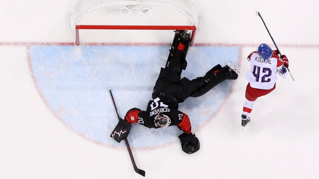 Men's Hockey: Canada Loses 1st Olympic Game in Eight Years, Falling to Czechs in Shootout
